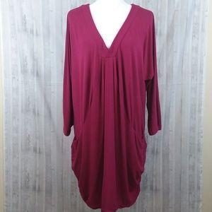 INC draped tunic size 1X